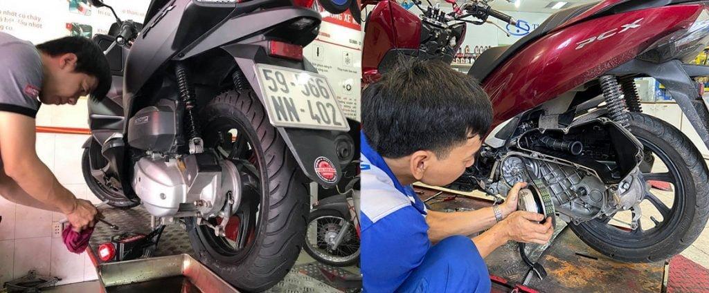 Sửa xe PCX lưu động
