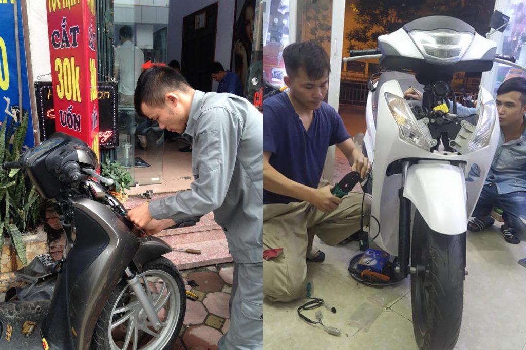 Sửa xe Honda SH lưu động
