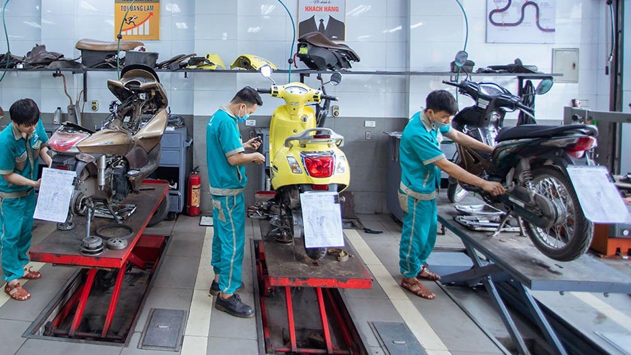 sửa xe máy uy tín tại Mùa Dịch