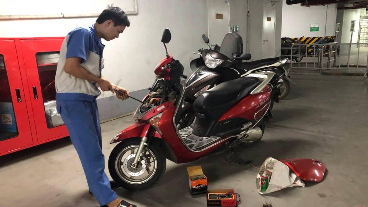 Dịch vụ cứu hộ xe máy tại Jamona City