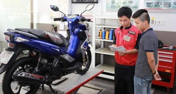 Sửa xe máy tay ga sym