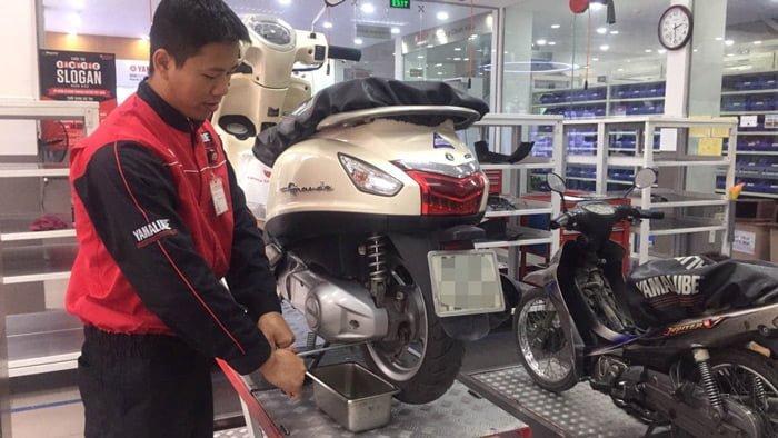 Sửa xe tay ga Yamaha
